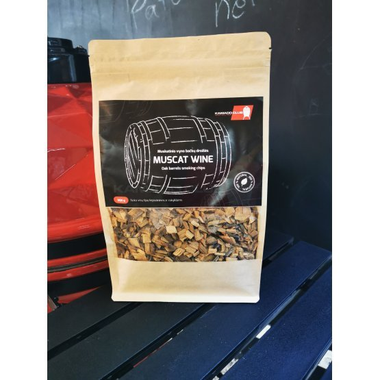 Muscat wine barrel chips, 900g