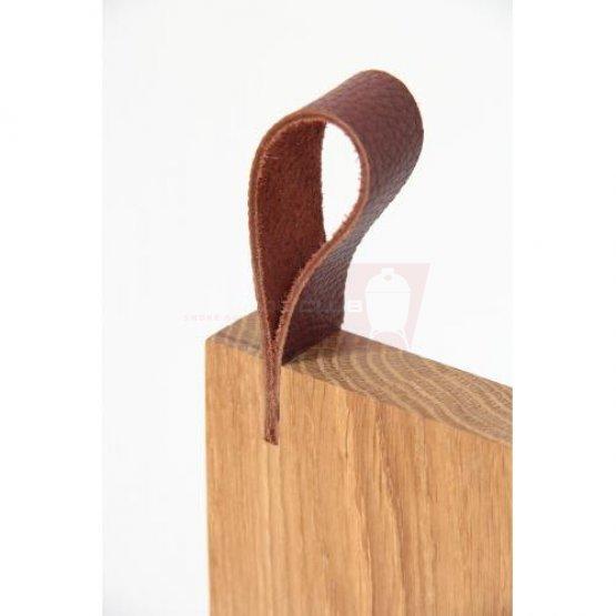 Oakwood cutting board, 25x23 cm