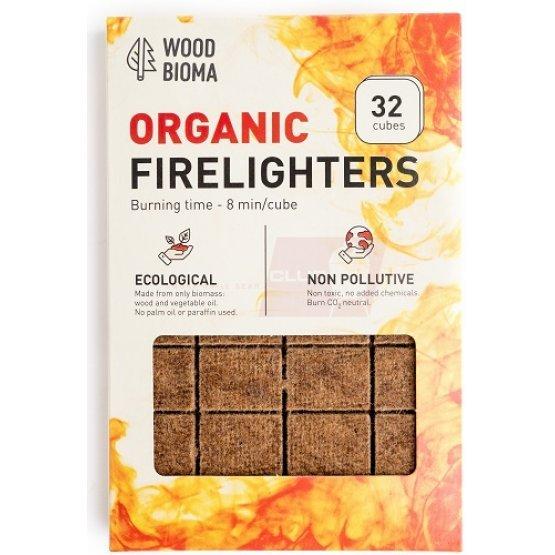 Ekologiški ugnies įdegtukai FIRELIGHTERS