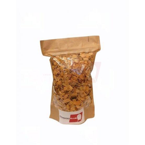 Plum tree wood chips, 1.5L