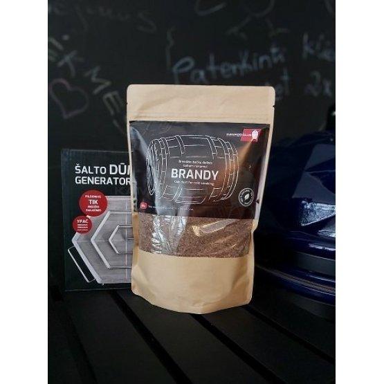 Brandy barrel dust, 450g
