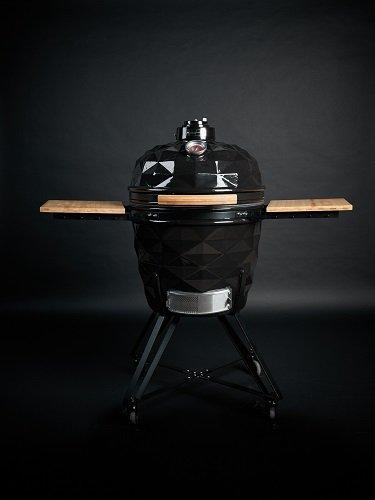 Kamado Club PRO juodos spalvos kepsninė