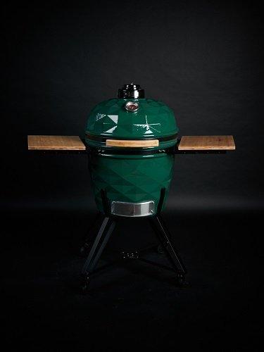 Kamado Club PRO žalios spalvos kepsninė